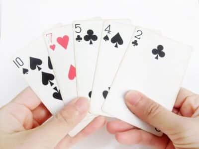 ポーカーのトランプ