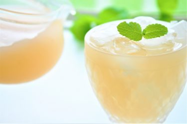 信州の味!アルプス「果汁100%桃ジュース」が美味しい!