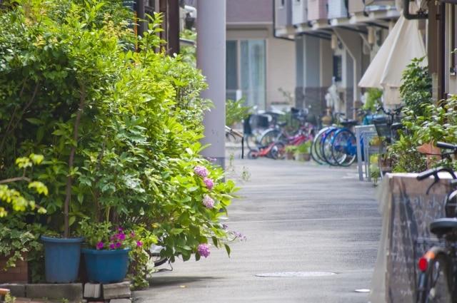 中崎町の風景