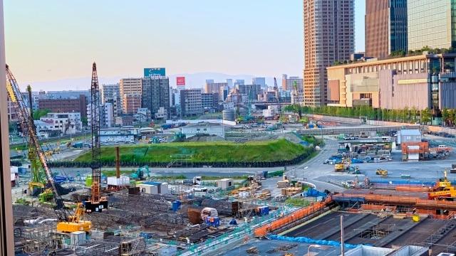 梅田北ヤードの再開発