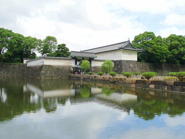 江戸城の遠景